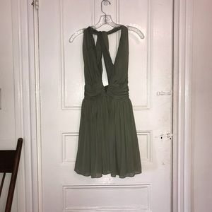 Sabo Skirt Green Dress Small